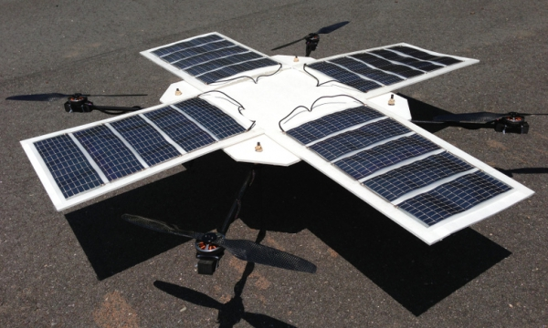 Solar-Powered Medical Drones