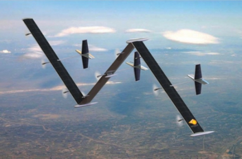 2008 - Odysseus solar-powered UAV can flight for 5 years without touching land